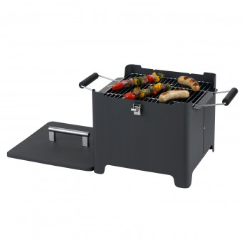 Tepro Chill&Grill Holzkohlengrill Cube anthrazit