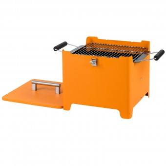 Tepro Chill&Grill Holzkohlengrill Cube orange – Bild $_i