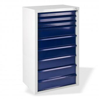Werkzeugschrank metall  Schubladenschrank / Werkzeugschrank 9 Schubladen Fernando blau