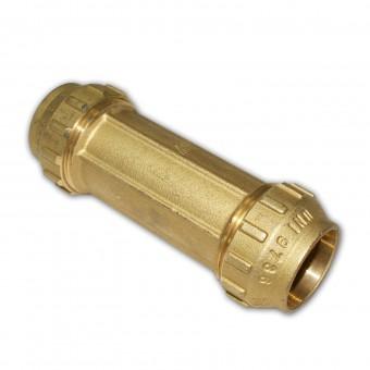 Fantastisch Rohr Verschraubung Messing Reparaturmuffe Ø 32 mm QW26