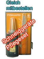 Fiskars Gartengeräte Pflege-Set Schneidwerkzeuge 3-teilig