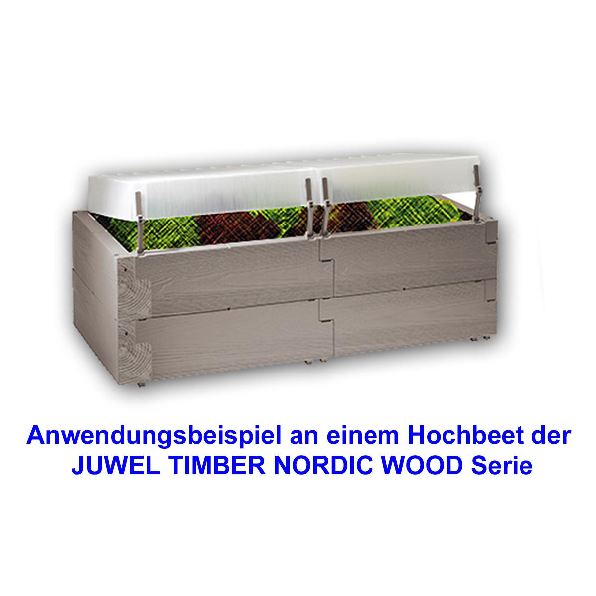 Juwel Hochbeete TIMBER NORDIC WOOD Zubehör Auswahl