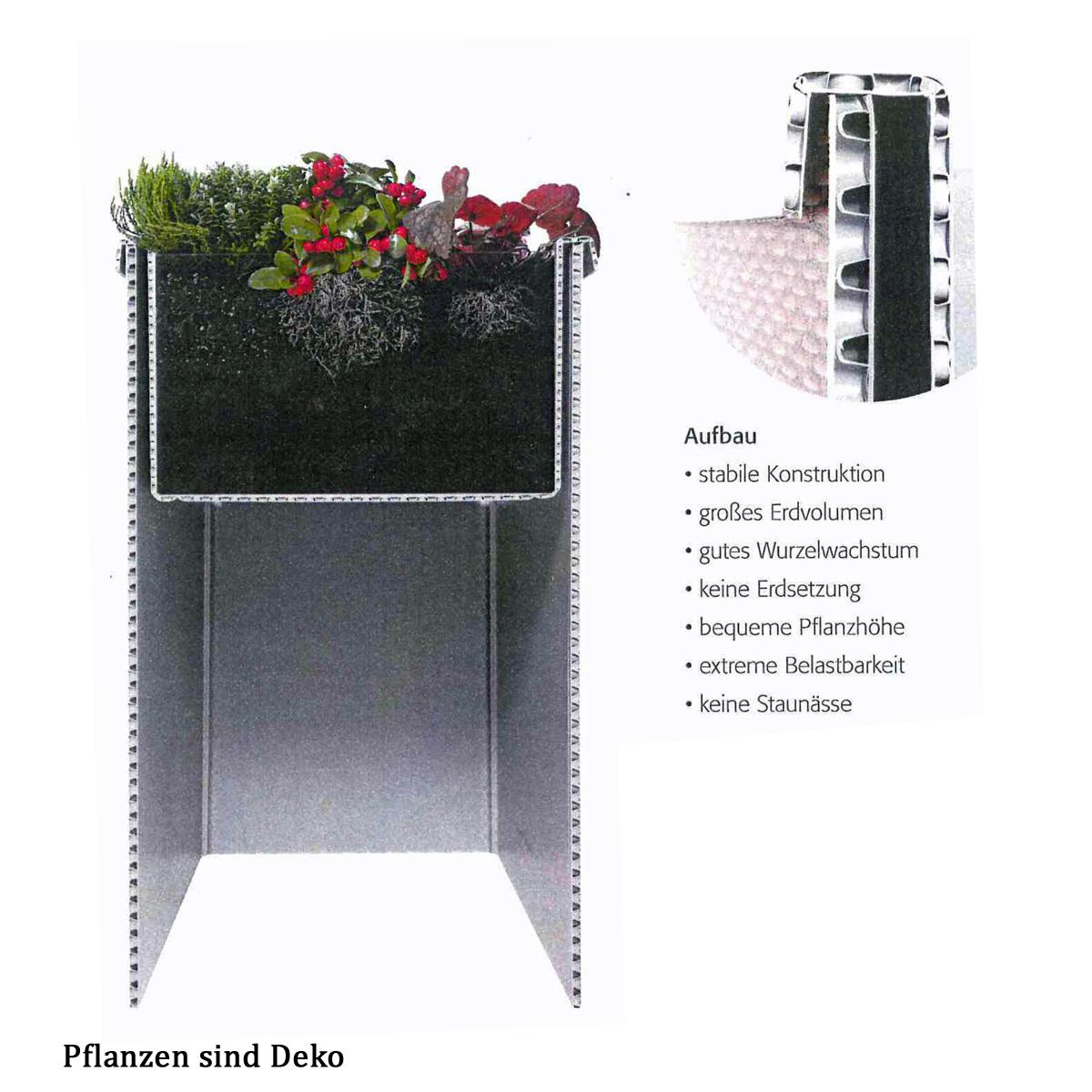 JUWEL Falt-Hochbeet Terrasse Balkon Easy Garden Auswahl, Falthochbeet, Balkonbegrünung, Terrassenbegrünung, Urban Gardening, Rattan-Look, Birke-Look, , var-juwel-falthochbeet-easy-garden
