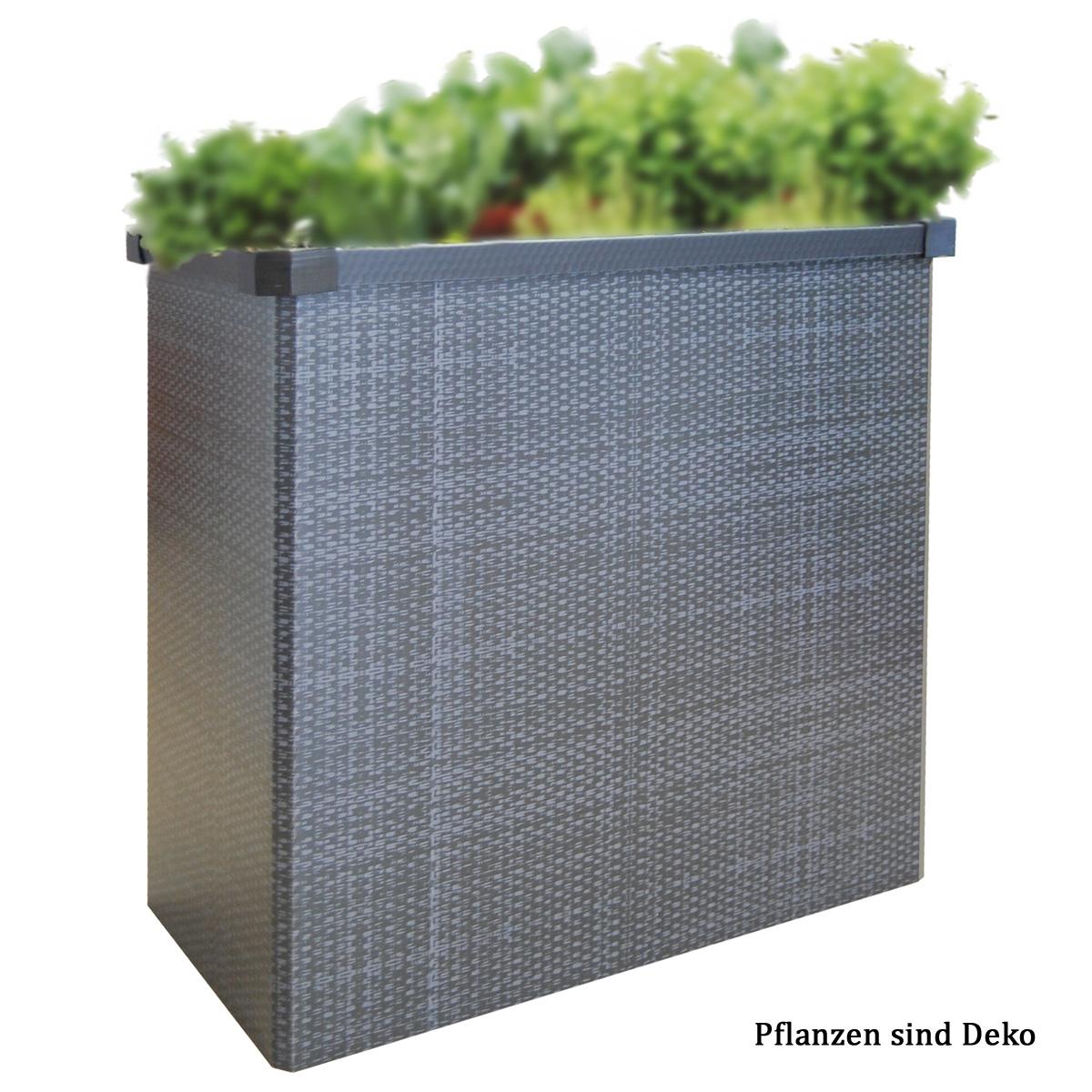 Bild zu JUWEL Falt-Hochbeet Rattan-Optik Easy Garden