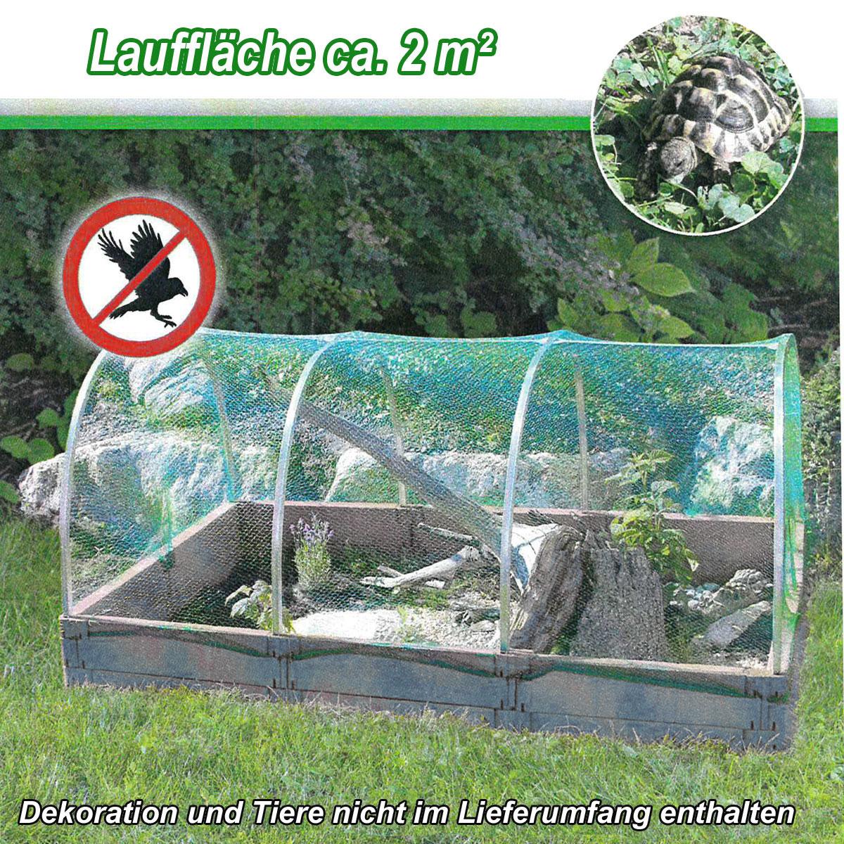 Juwel Kleintiergehege / Kleintierauslauf 2 m² Schutznetz Auswahl