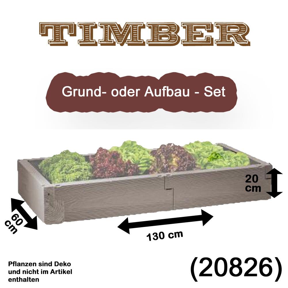 Bild zu Juwel *Grund-/Aufbau-Set* TIMBER NORDIC WOOD Holzoptik