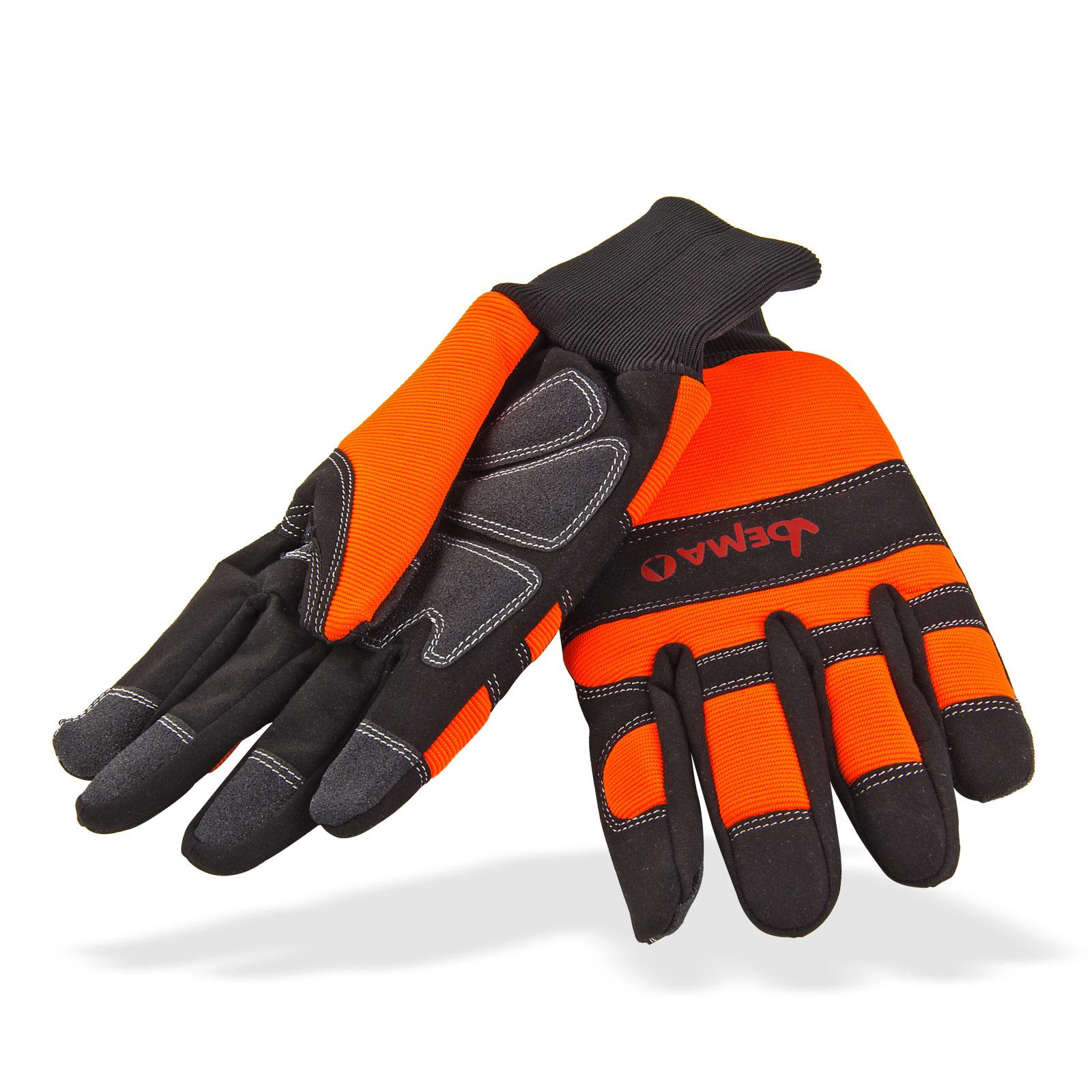 Marken Forst Schnittschutz-Handschuhe KUFSTEIN  Gr. 9-12 Class1 DIN EN 381, Schnitthandschuhe, Schutzhandschuhe Motorsäge Kettensäge, PSA Forst, Schnittschutzhandschuhe, 30246, 30247, 30248, 30249