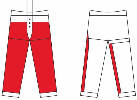 Schnittschutzhosen-Design A EN 381