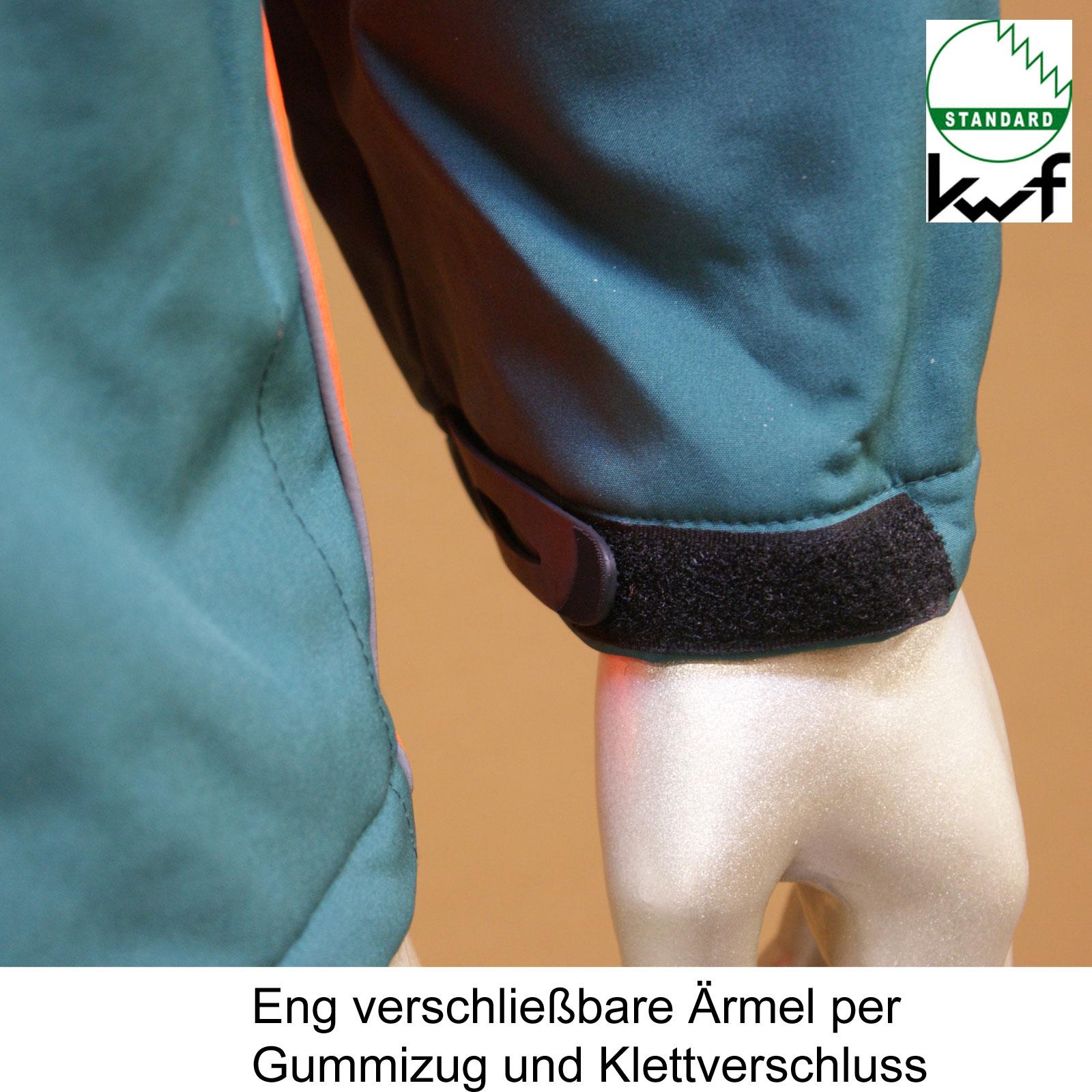 KWF FPA Forst Schnittschutz Set 2-tlg Latzhose + Softshell Jacke, PSA-Forst, Forstbewirtschaftung, Kettensägenschutz, Motorsäge, Forstkleidung, ,