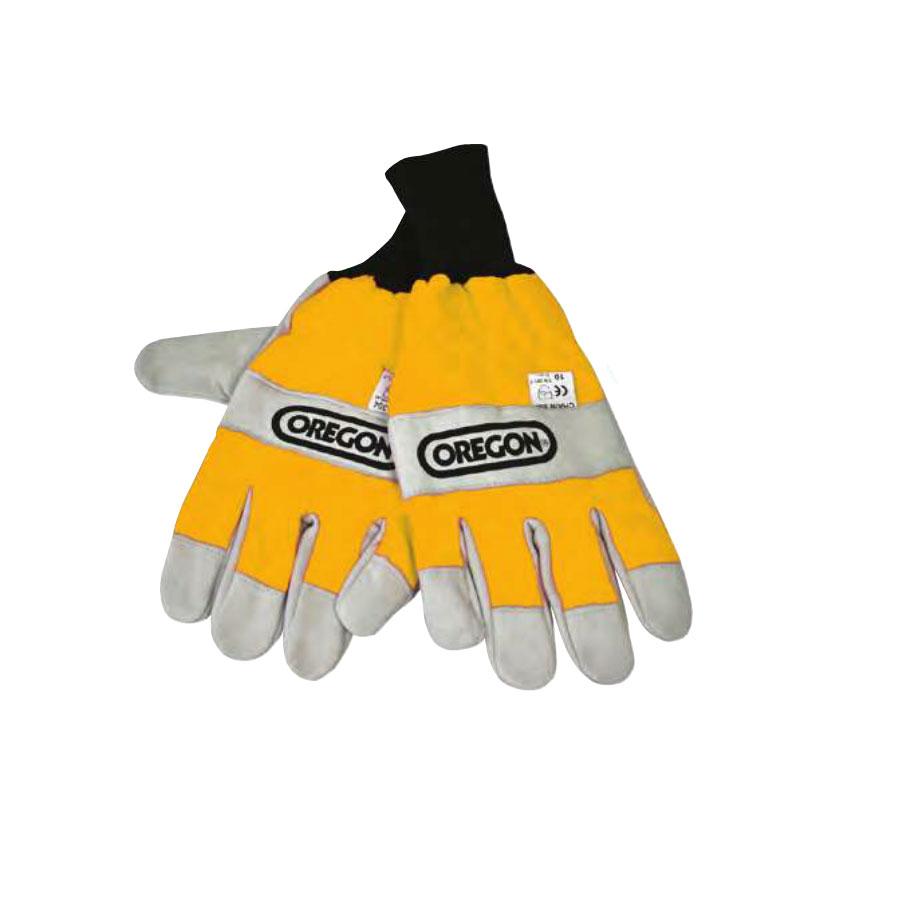 Oregon Forst Schnittschutz-Handschuhe beidhändig M-XL EN 381 Forst Holzarbeit, Schutzhandschuhe Motorsäge, EN 388, Linkshänder, Rechtshänder, PSA-Forst, Waldarbeit, WaldarbeiterSchutz