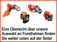 Übersicht Forsthelm Forstsicherheitshelm Forstschutzhelm Waldarbeiterhelm bei Stabilo-Fachmarkt.de
