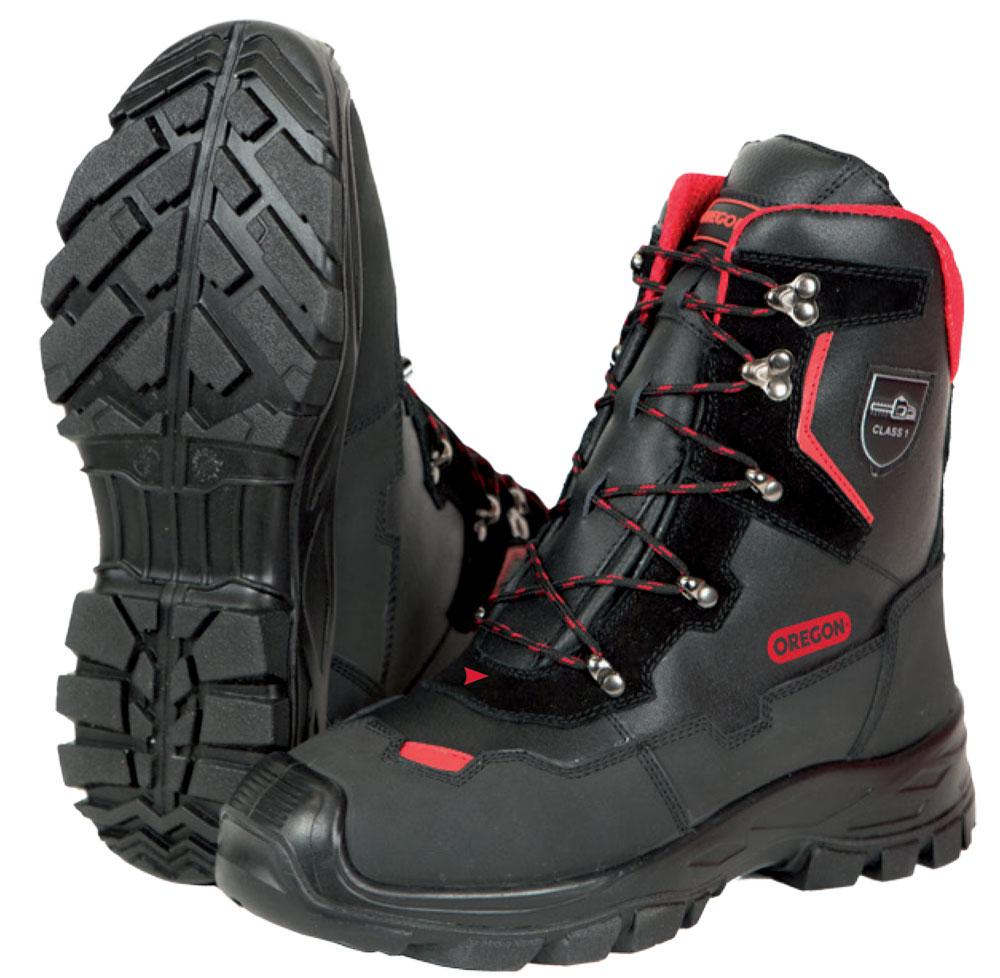Bild zu Forst KWF Schnittschutz-Stiefel Oregon YUKON Leder Class1/ S2/EN ISO