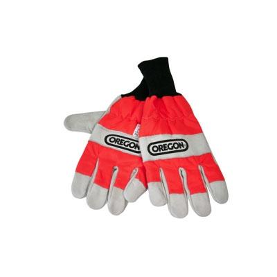 Oregon Schnittschutz-Handschuhe Kettensäge M-XL beidhändig EN 381