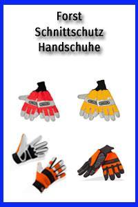 Forst Schnittschutz-Handschuhe einhändig/beidhändig