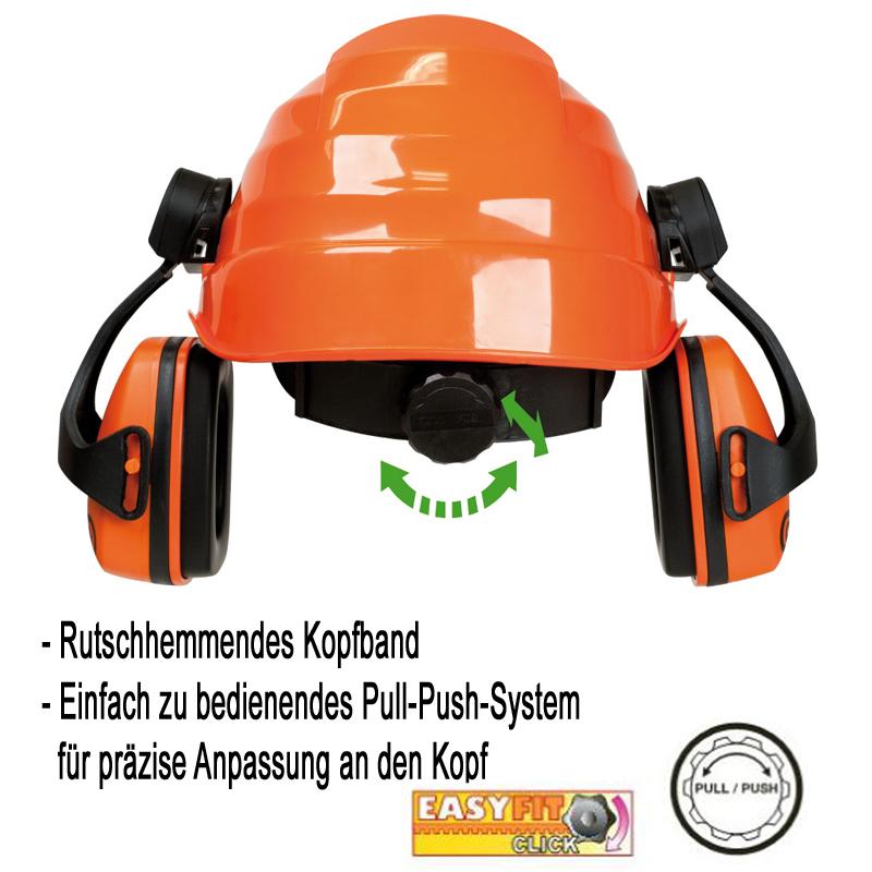KWF FPA Forst Schnittschutz 3-tlg Helm Schnitthose Schutzstiefel, Forst-Set, Motorsägen-Schutz, Kettensägen-Schutz, Waldarbeit, Brennholzaufbereitung, , var-forstset3d1
