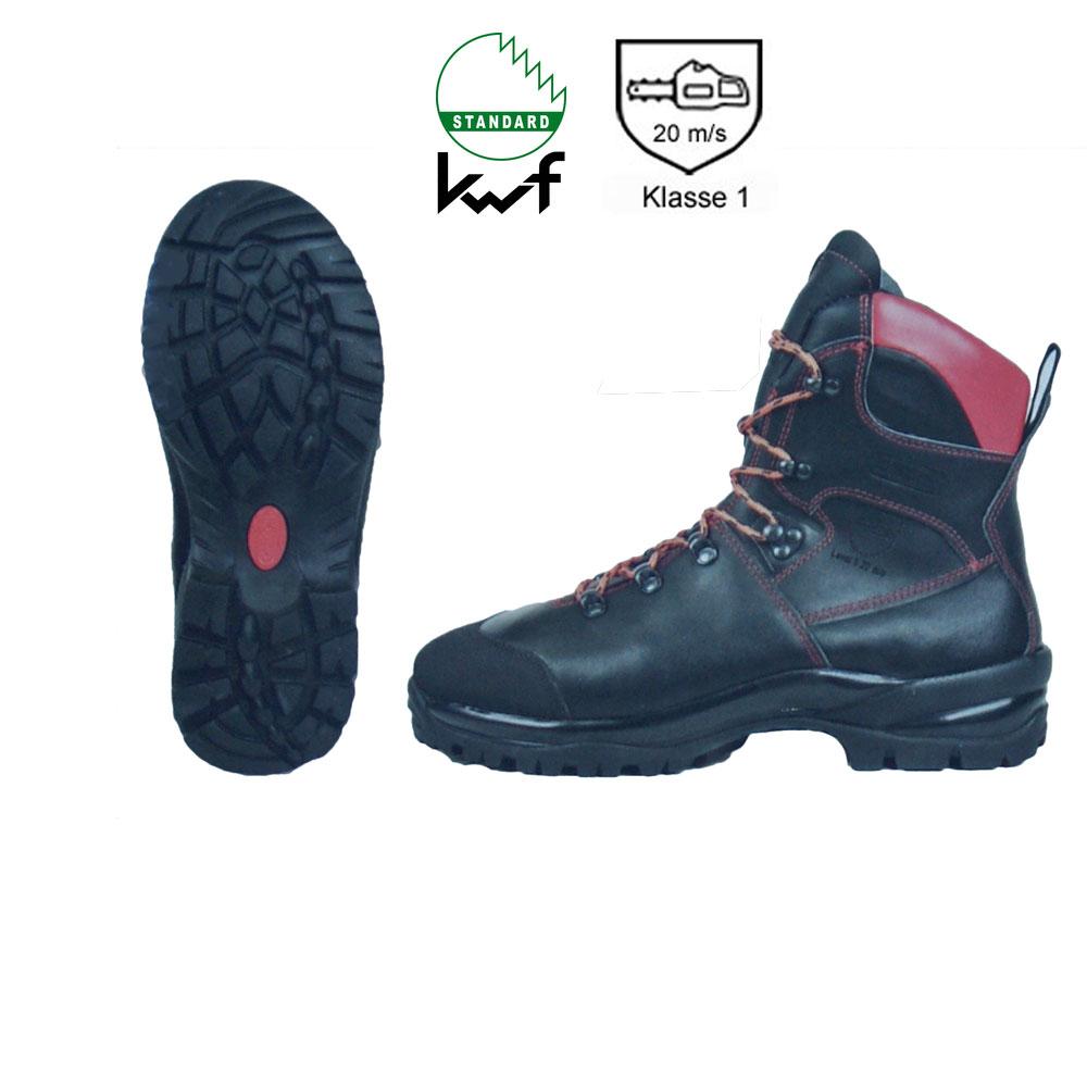 KWF Forst Schnittschutz 4-er Komplett-Set  + Handschuhe PSA-Forst