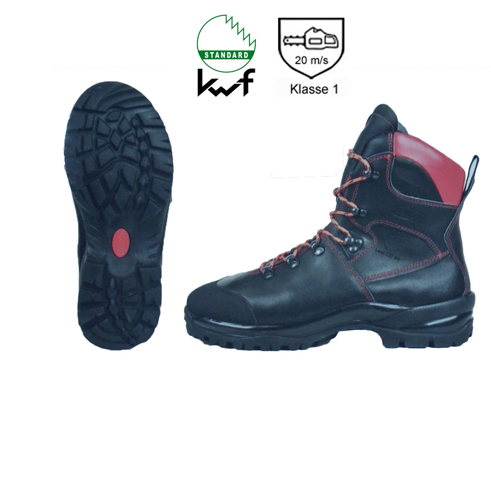KWF FPA Schnittschutz-Stiefel Oregon WAIPOUA Class1 + S2 EN ISO, PSA-Forst, Forststiefel, Kettensägen-Stiefel, Motorsägen-Stiefel, Waldarbeit, Holzarbeit,var-295479