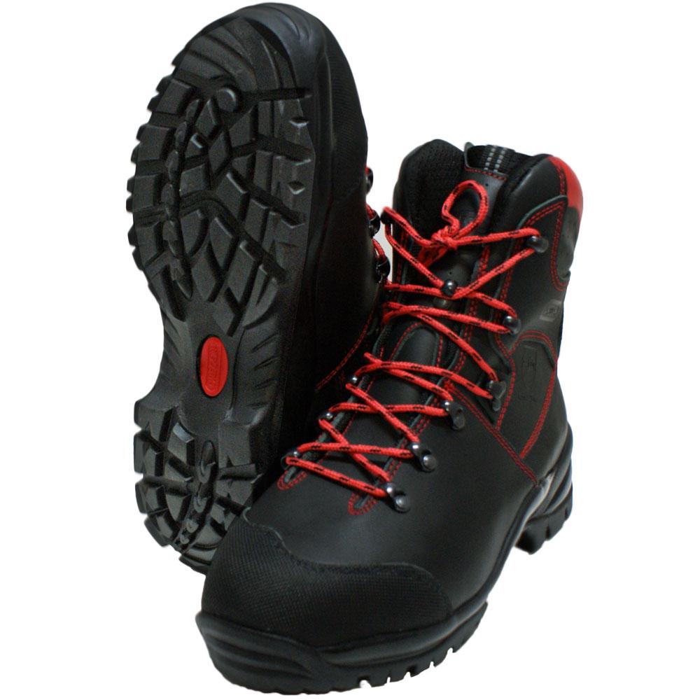 Bild zu KWF FPA Schnittschutz-Stiefel Oregon WAIPOUA Class1 + S2 EN ISO