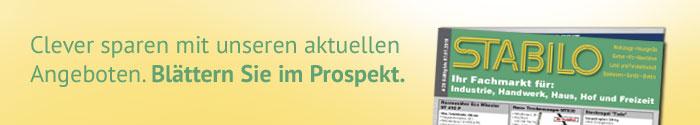 Banner Stabilo Prospekt